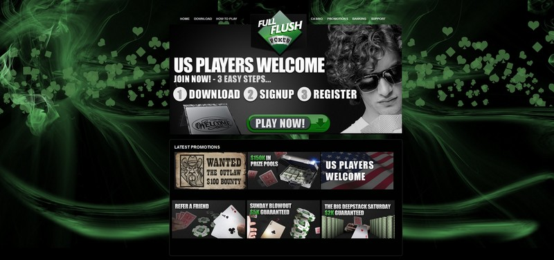 Full Flush Poker Website