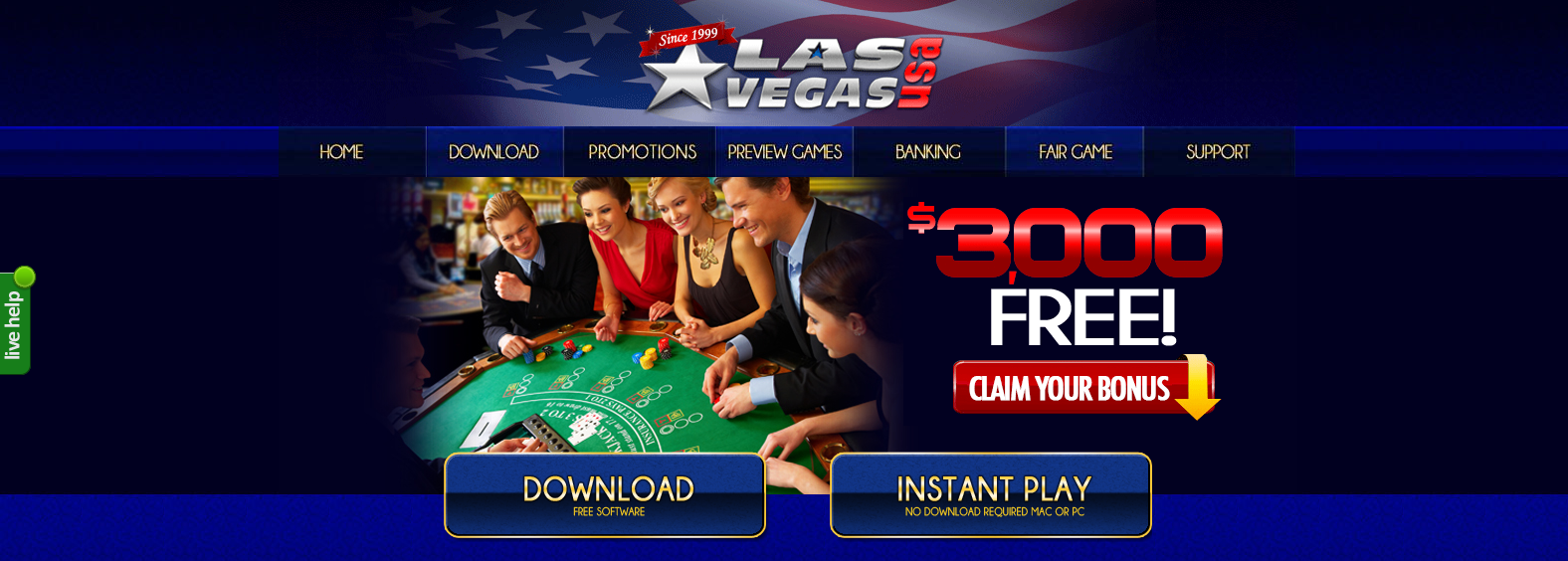 no download casino free spins