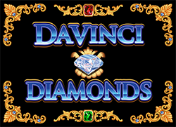 Da Vinci Diamonds slot IGT