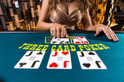Live Dealer Three Card Poker